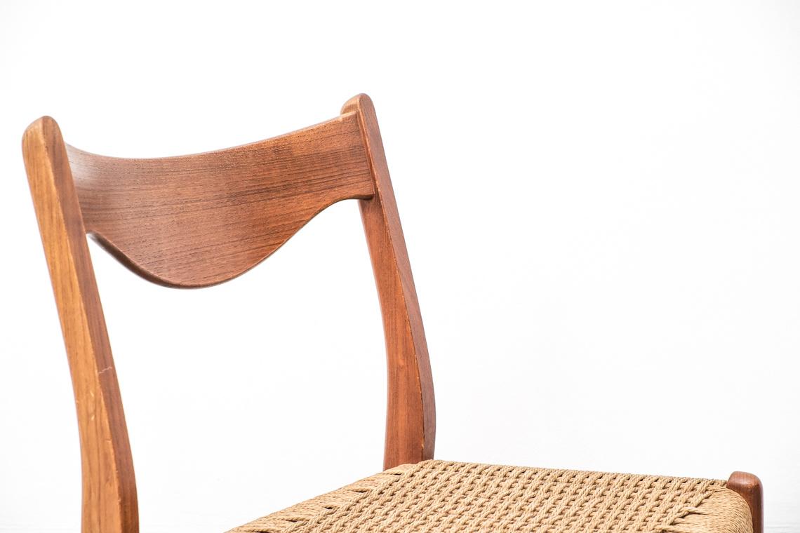 Silla de arne wahl iversen modelo gs60 el recibidor - Sillas para recibidor ...