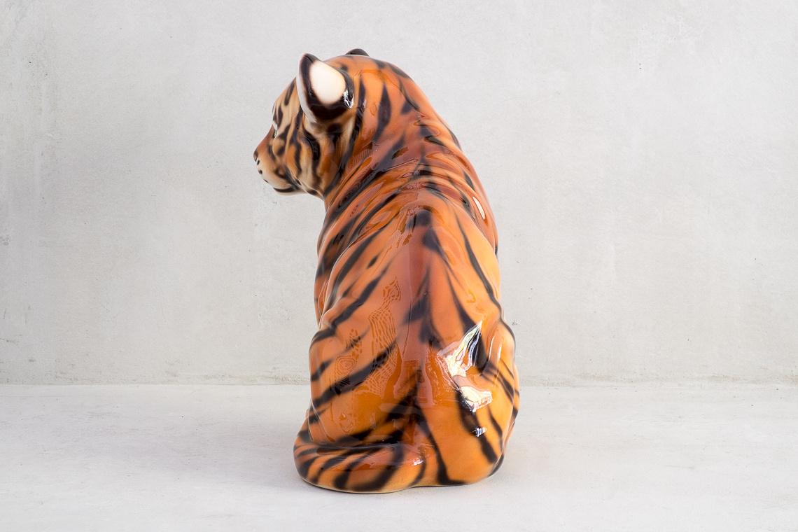 FIGURA Cachorro de tigre (42CM) EN CERÁMICA MADE IN ITALY