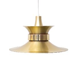 Luminaria dorada de Bent Nordsted para Lyskaer Belysning