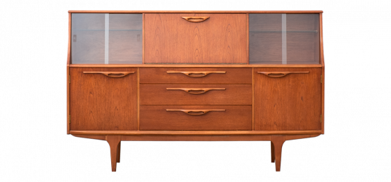Highboard with Bar Compartment from Jentique, 1972