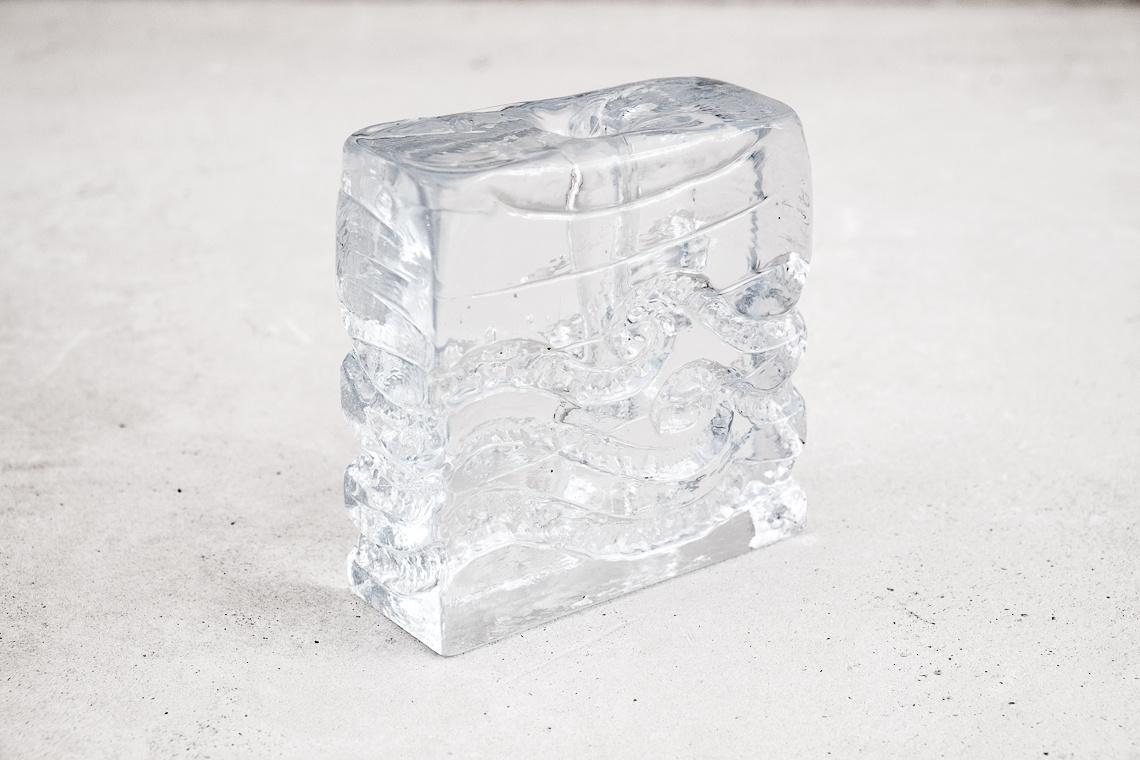 JARRÓN CRISTAL Solifleur DE INGRID GLAS