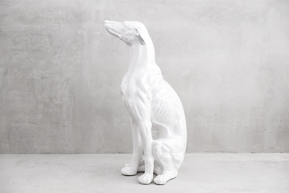 GALGO CERÁMICO (88CM) MADE IN ITALY