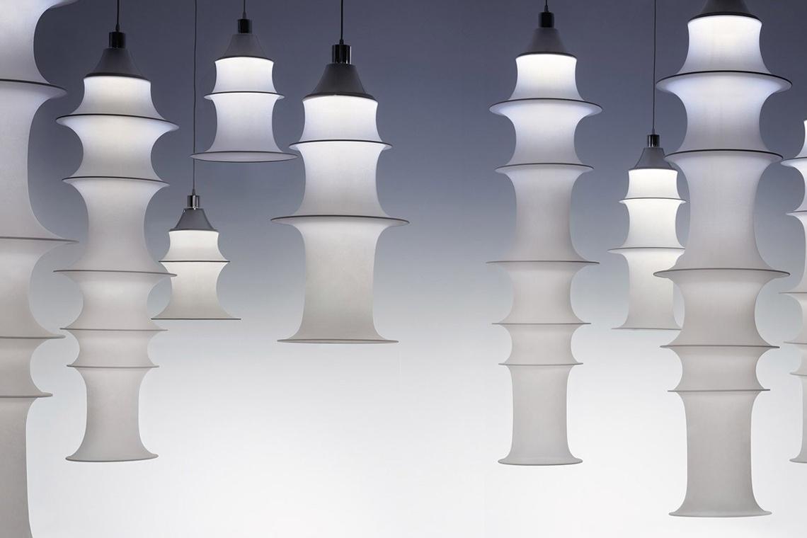Lámpara suspensión Falkland DE BRUNO MUNARI