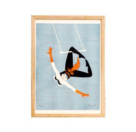 LÁMINA Acrobat trapeze