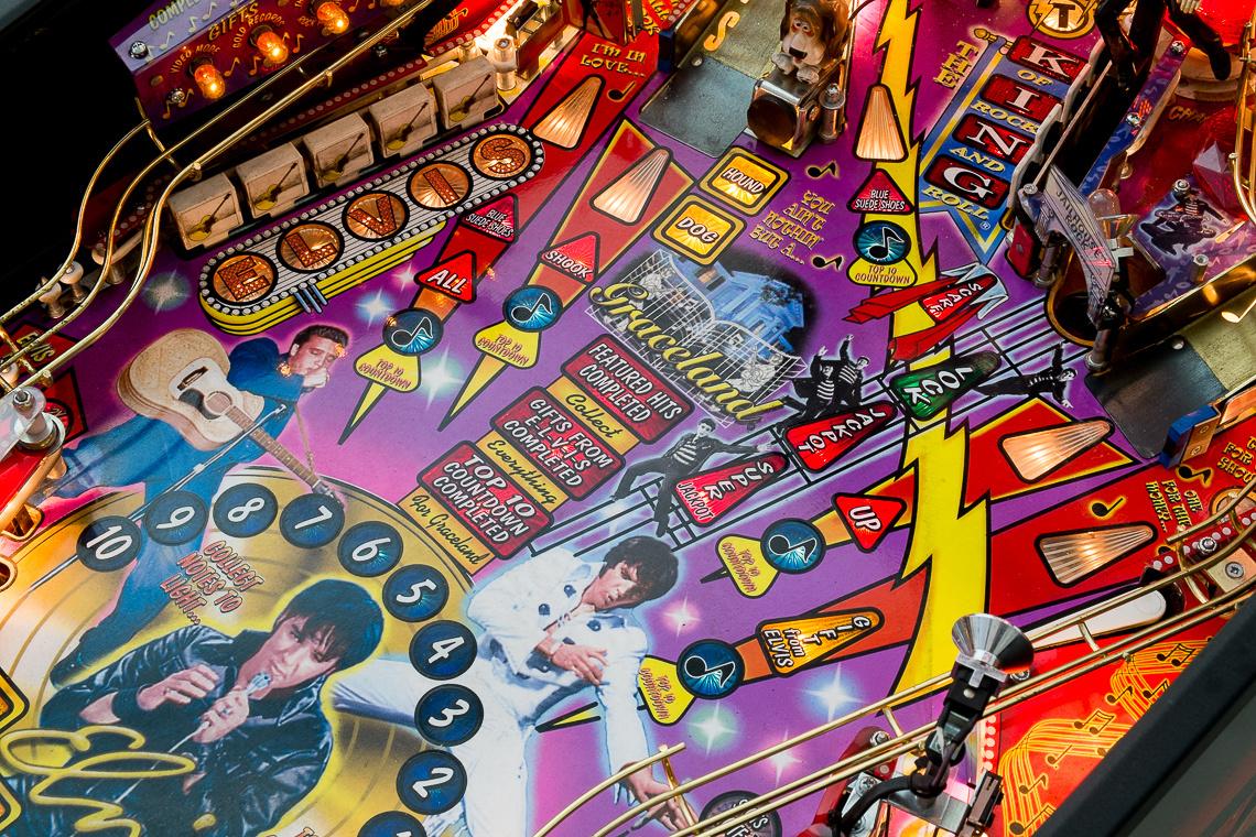 Elvis Pinball Machine de Stern