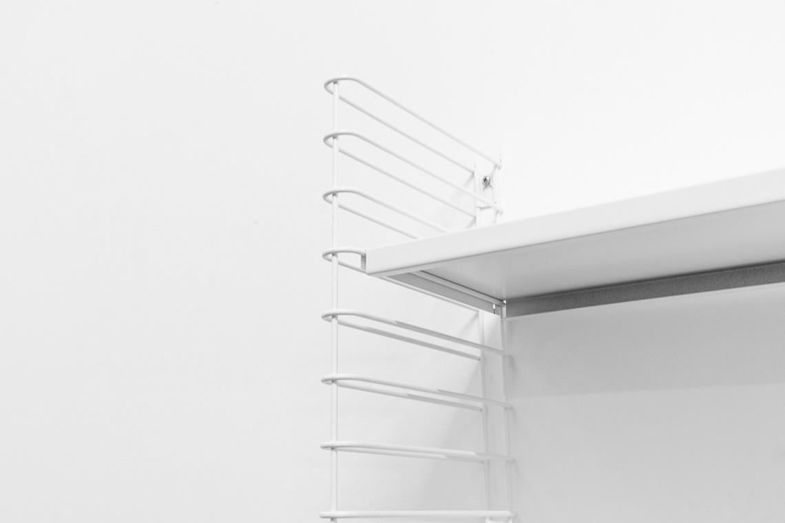 pack de 2 estanterías tomado blancas