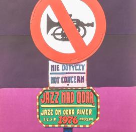 CARTEL del  Jazz Odra River '76  DE Jan Sawka