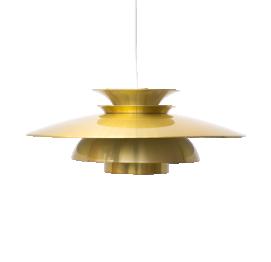 LÁMPARA COLGANTE EN DORADO DE TOP LAMPER