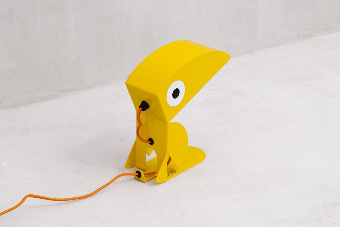 Yellow Toucan lamp