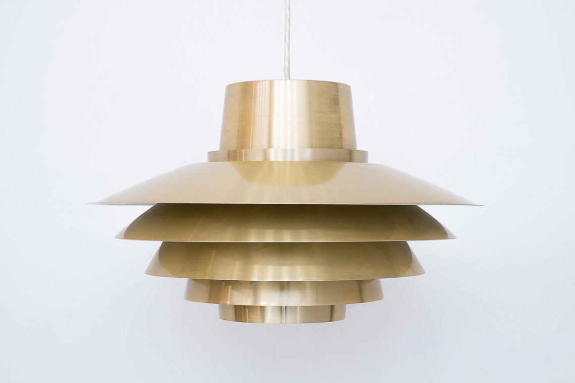 Lámpara colgante Verona de Svend Middelboe para Nordisk Solar