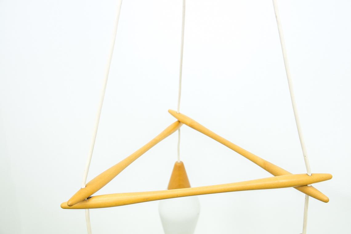 Lámpara ESCANDINAVA de 3 focos