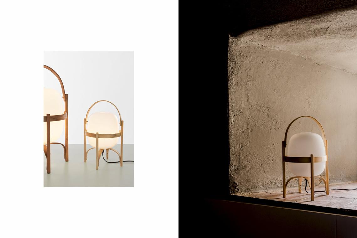 Lámpara Cestita de Miguel Milà