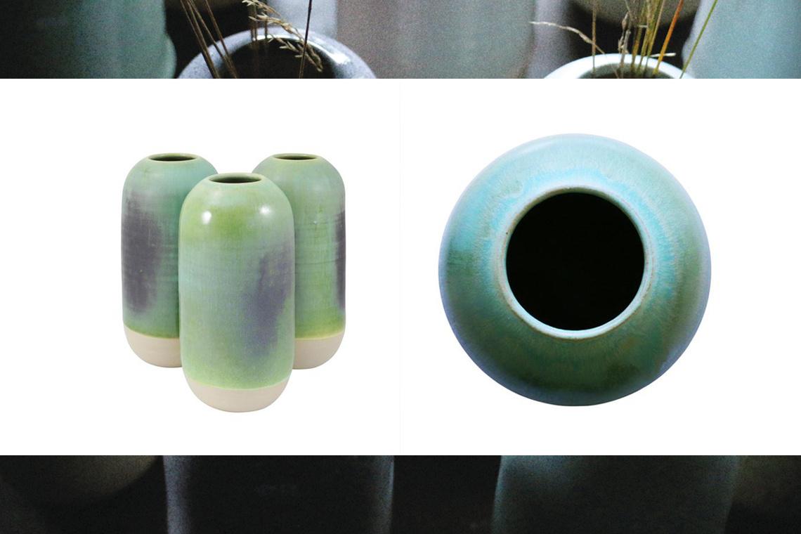 Jarrón Yuki Ancient Copper