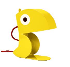 Yellow Parrot lamp